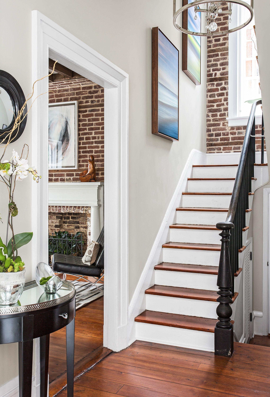 Charleston Single House Past Meets Present Home Stairs Design Stairs Design Staircase Design