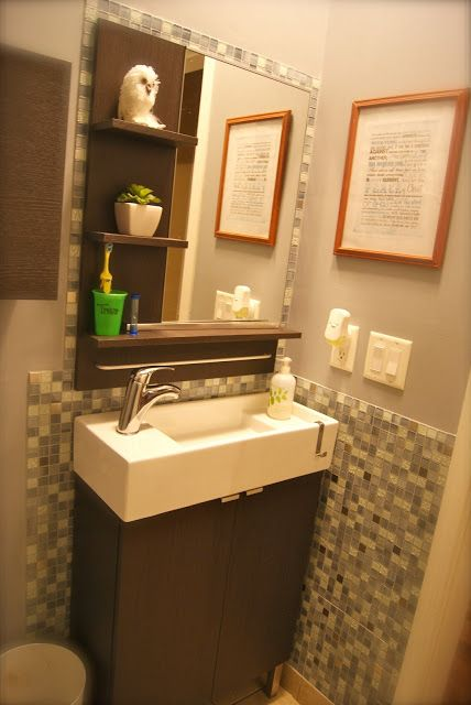 Ikea Bathroom ReModel On A Budget... By Julia Kendrick.com Liking The