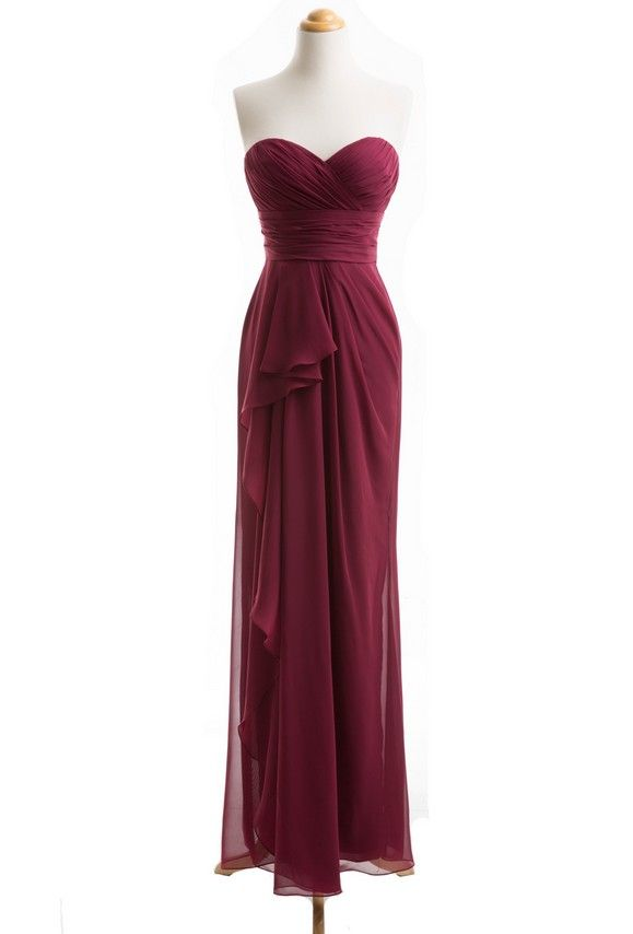 http://www.luulla.com/product/598845/wine-red-bridesmaid-dress-long ...