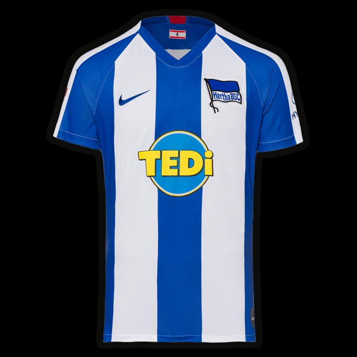 Hertha Bsc Football Club Home Nike 2019 20 Replica Futbol Soccer Kit Calcio Shirt Jersey Fussball Camisa Futebol Camiseta Trikot Maillot Maglia Bnwt En 2020 Maillot De Foot Maillot Maillot Nike
