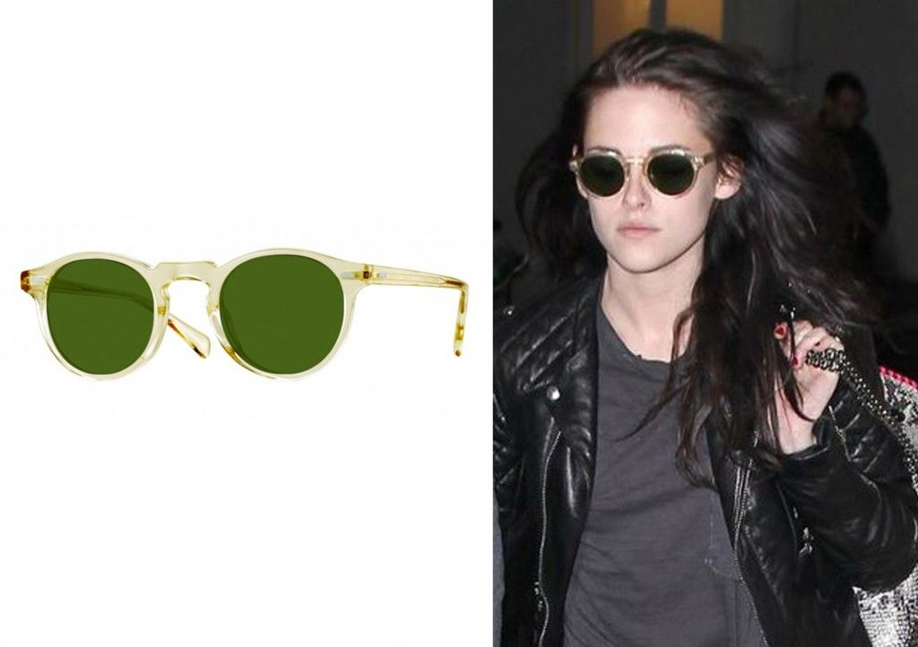 Model de ochelari Oliver Peoples   Kristen Stewart - portret ... 4e720cf38309