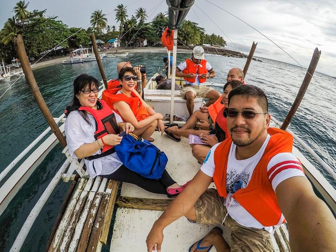 Hey Dumaguete! A boat load is of happy trippers. #travel #islandlife #nature #gopro @goproph