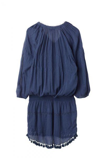 Hunkydory Dinuba Dress sininen | Tiirikosken Tehdas