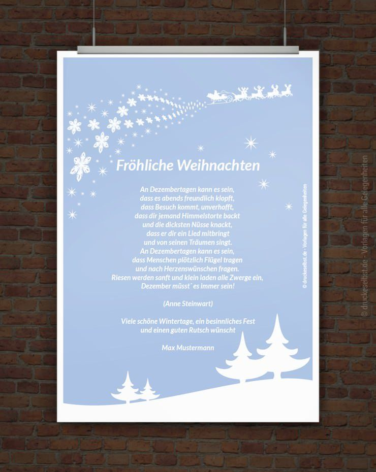 weihnachtsgr e mit weihnachtsgedicht spr che. Black Bedroom Furniture Sets. Home Design Ideas