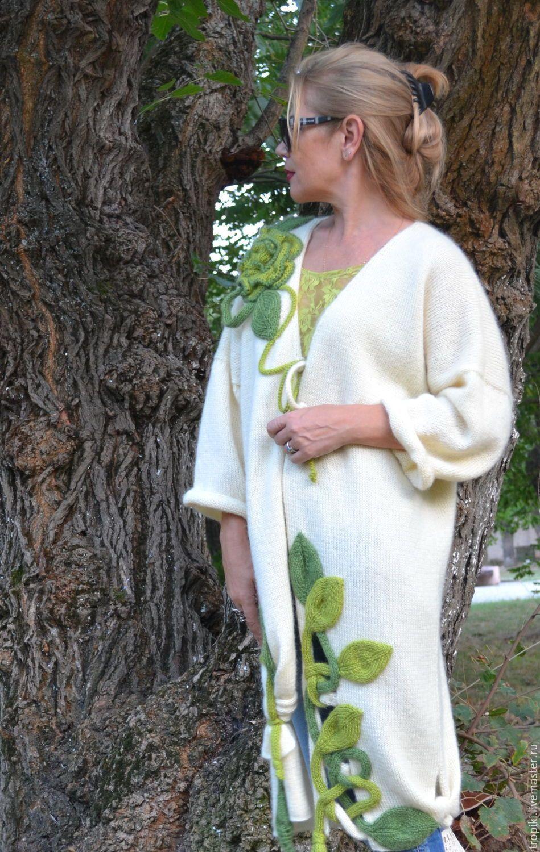 Вязание пальто бохо от волкодав 393
