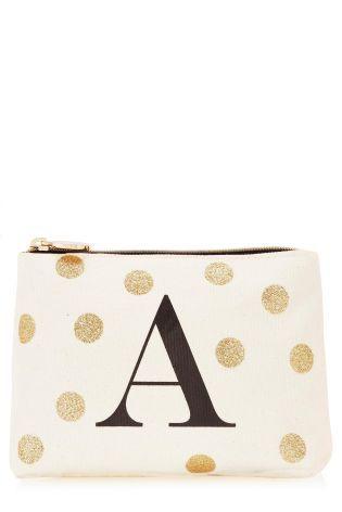 Alphabet Make Up Bag From The Next Uk Online