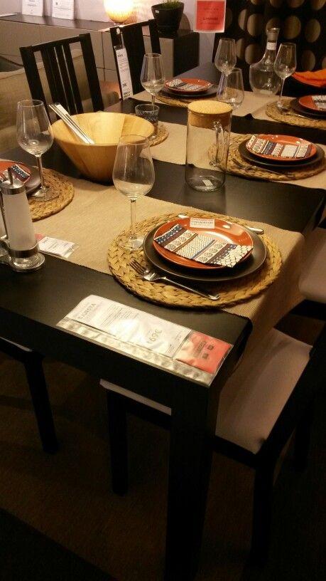 Table Salle A Manger Extensible 169E IKEA Ref BJURSTA à