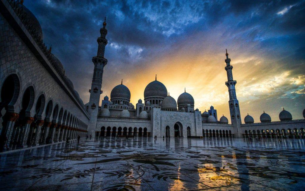 Sheikh Zayed Mosque Masjid Agung Sheikh Zayed Wallpaper Islami Mesjid