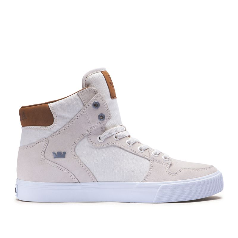 VAIDER in OFF WHITE TAN WHITE | SUPRA Footwear | Shoes