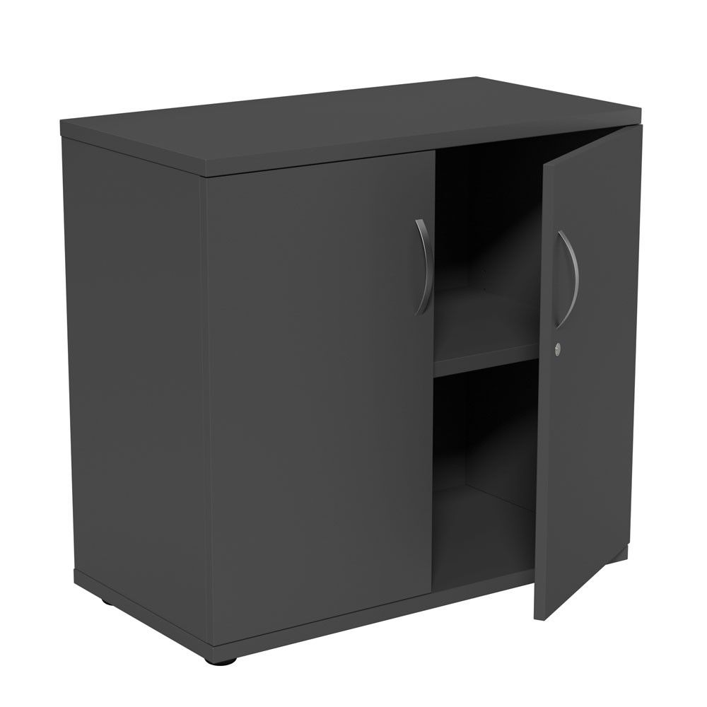 cupboard office. Our Dusk Wooden Office Cupboard Has 2 Lockable Doors, Sleek Silver Bow Handles And An Internal Shelf Suitable For Storing One Row Of Files, In Either Grey F