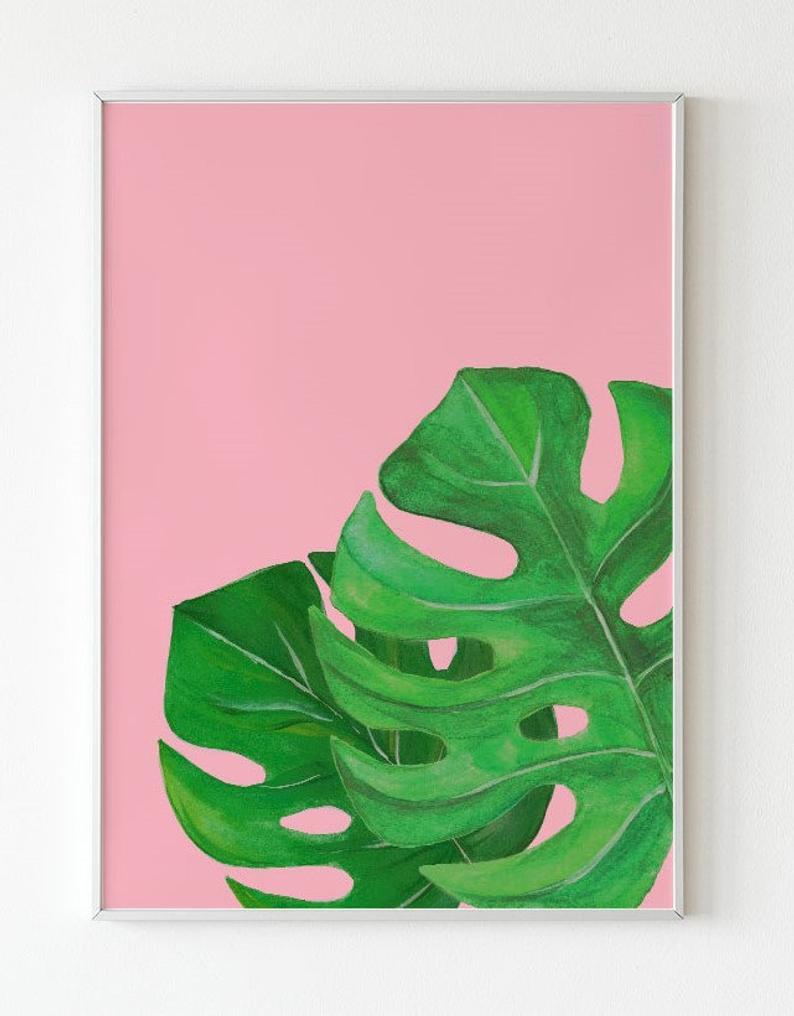 Mini Leaf Painting Tiny Art