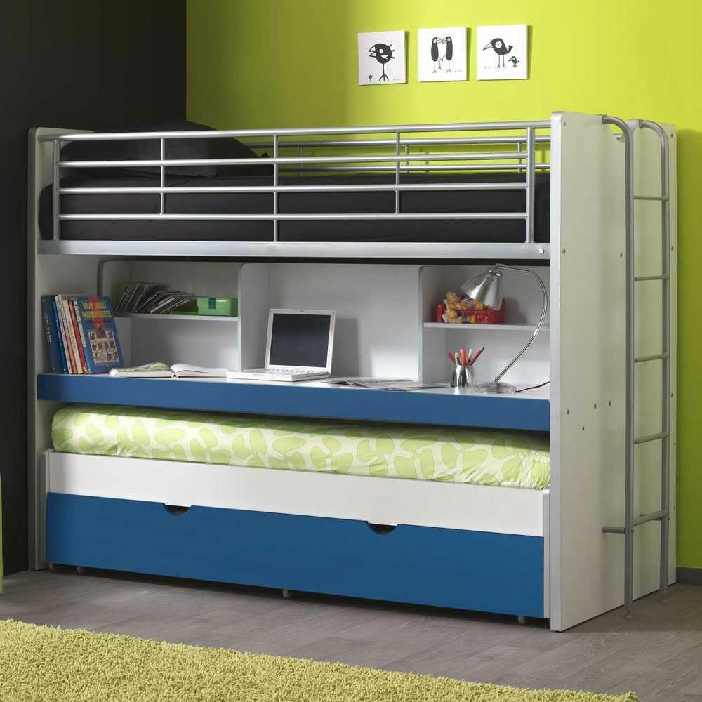 hochbett mit ausziehbett schreibtisch jetzt bestellen unter. Black Bedroom Furniture Sets. Home Design Ideas