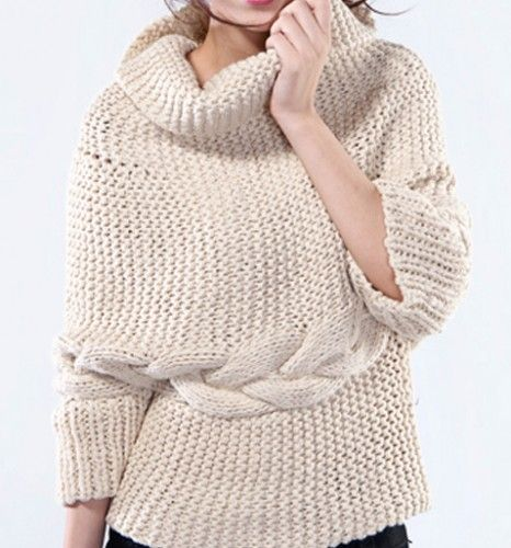 Chunky Cowl Neck Sweater | Style : Fall   Winter | Pinterest ...