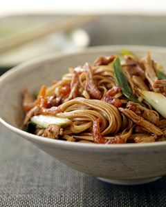 Recipes from The Nest - Cantonese Pork Lo Mein
