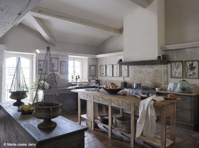 Beautiful Cuisine Ouverte Maison Ancienne Photos - Design Trends ...