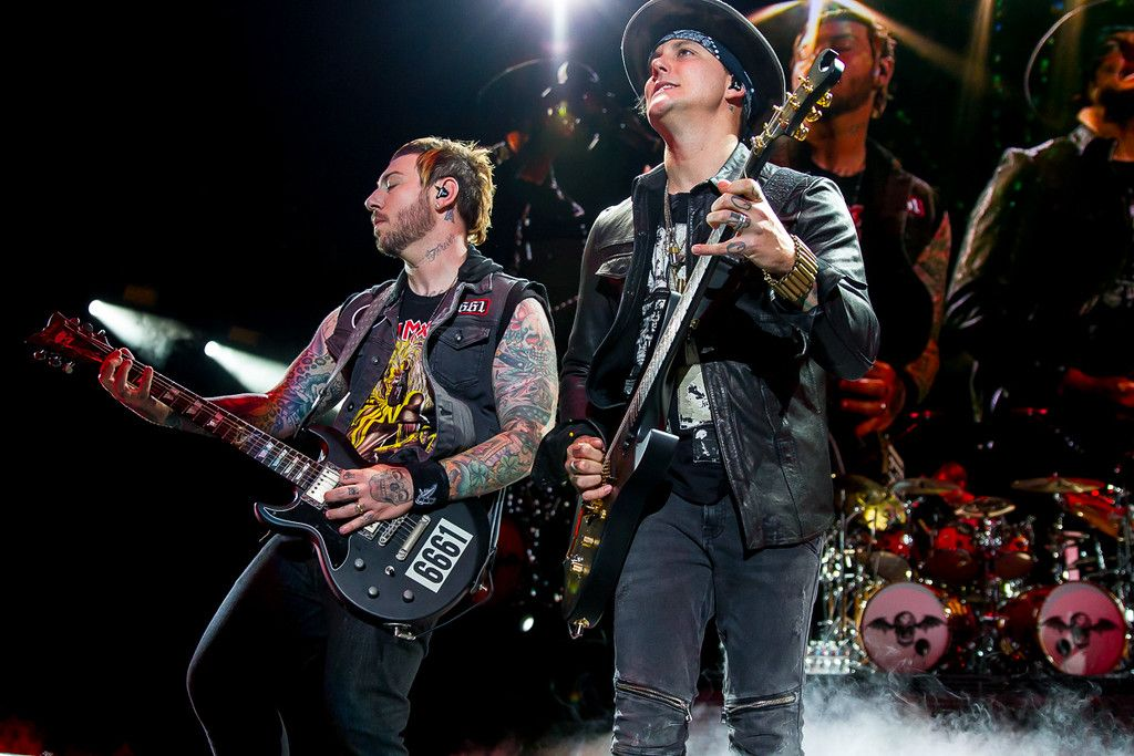 Avenged Sevenfold performs at the High Elevation Rock Festival…