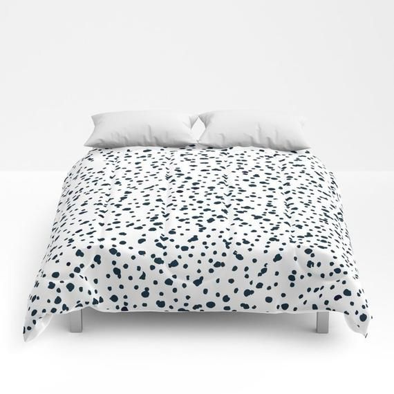 76e8f944dd462 Dalmatian Bedding Duvet Cover Girls Dalmatian Print Comforter king ...