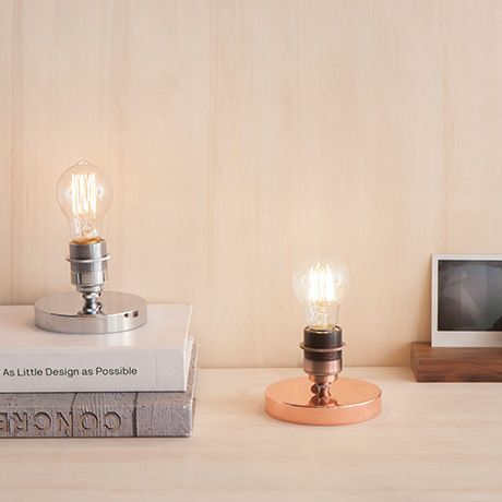 Caldera Table Lamp   Copper   By Glühwerk Berlin #MONOQI