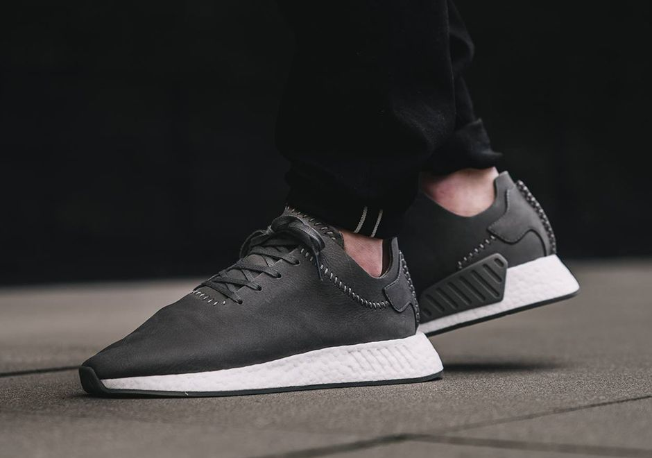 the latest b7474 3a6f9 Adidas x Wings + Horns NMD R2 Leather | Style | Adidas nmd ...