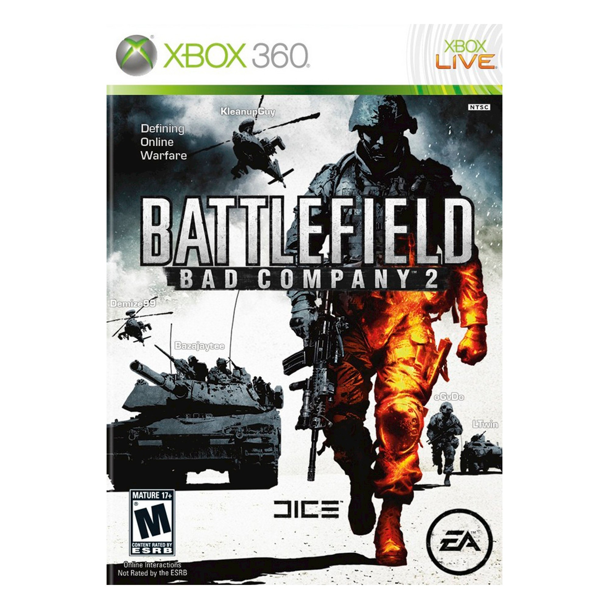 Battlefield Bad Company 2 Pre Owned Xbox 360 Battlefield Bad