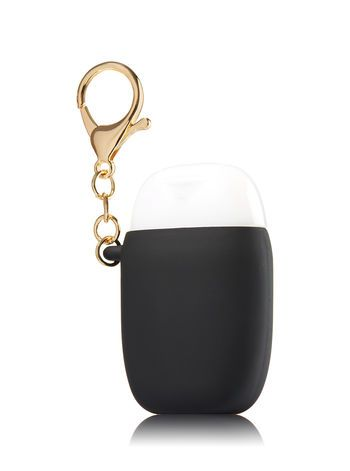 Matte Black Bling Pocketbac Holder Bath And Body Works Bath