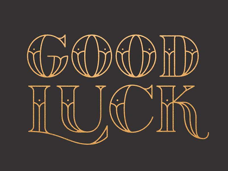 Good Luck - You\u0027ll Need It Preview 2 Tipografía, Tipografia - paredes con letras