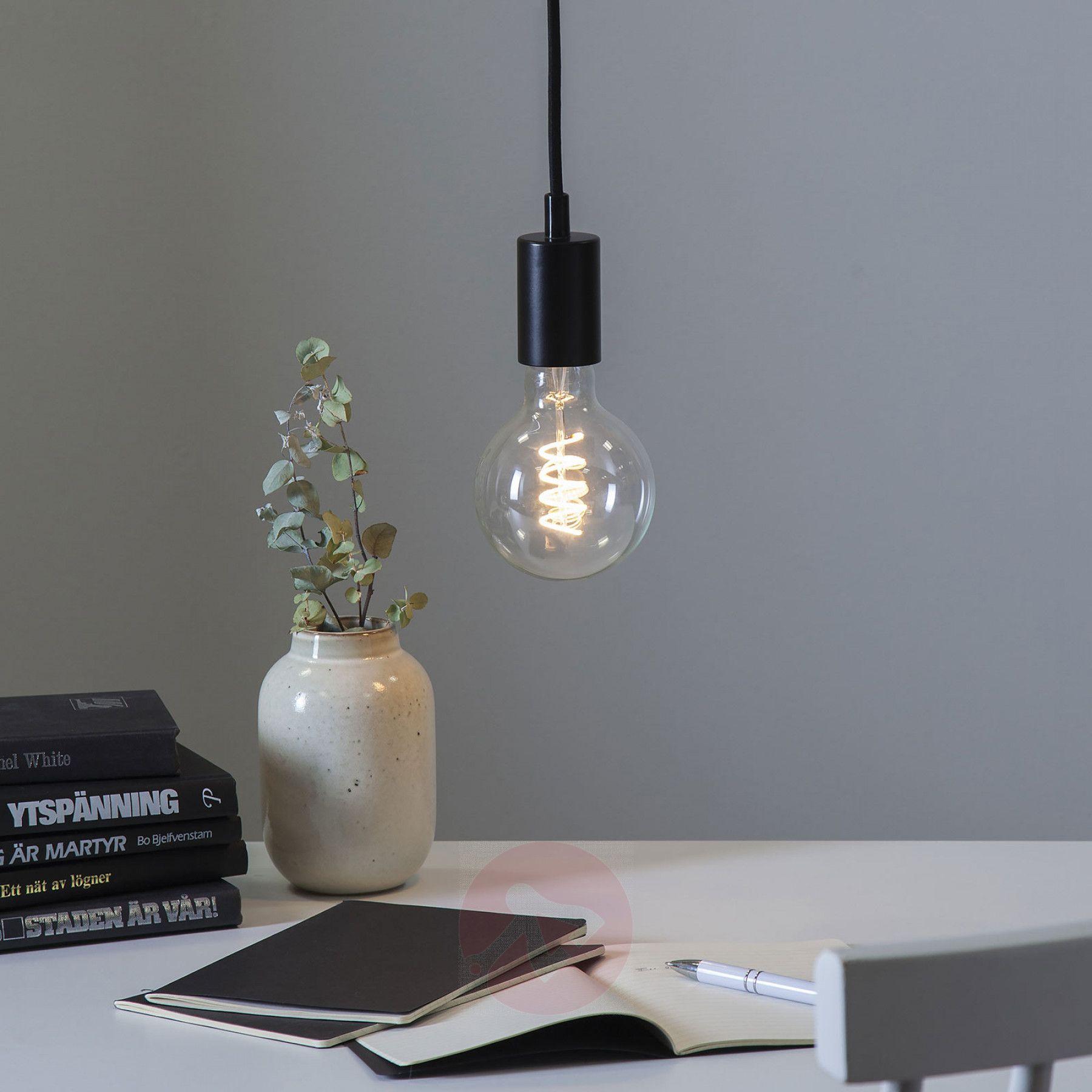 E27 Fassung Stil Mit Kabel Kaufen Lampenwelt De In 2020 Einmachglaslampe E27 Fassung Led Rohren