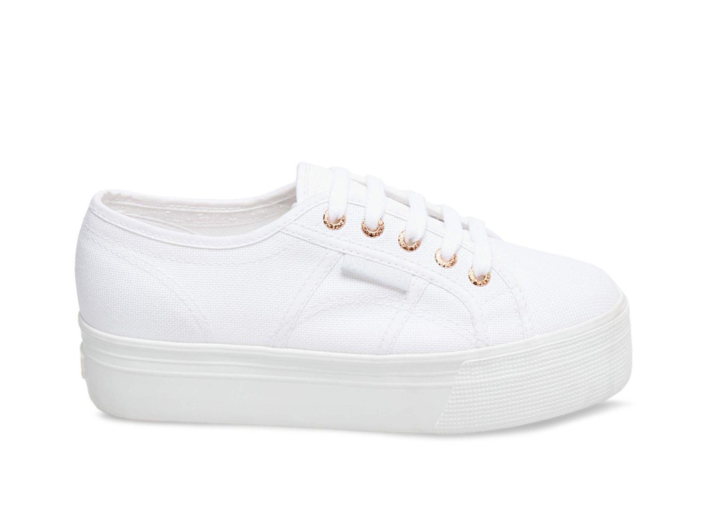 2790 ACOTW WHITE ROSE GOLD – Superga