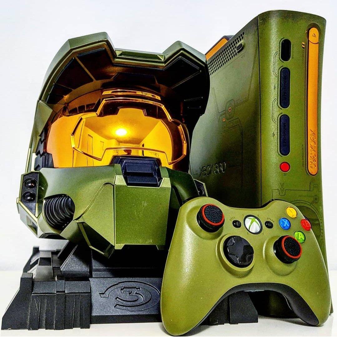 Xbox 360 Halo 3 Special Edition Decoracao Nerd Decoracao