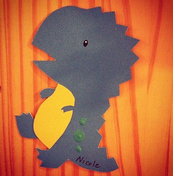 Adorable dinosaur door tag idea & Dinosaur Door Decs! RA | RA Creations | Pinterest | Cases So cute ... Pezcame.Com