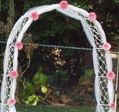 ideas how to decorate an arch for a wedding | Weddings | Pinterest ...