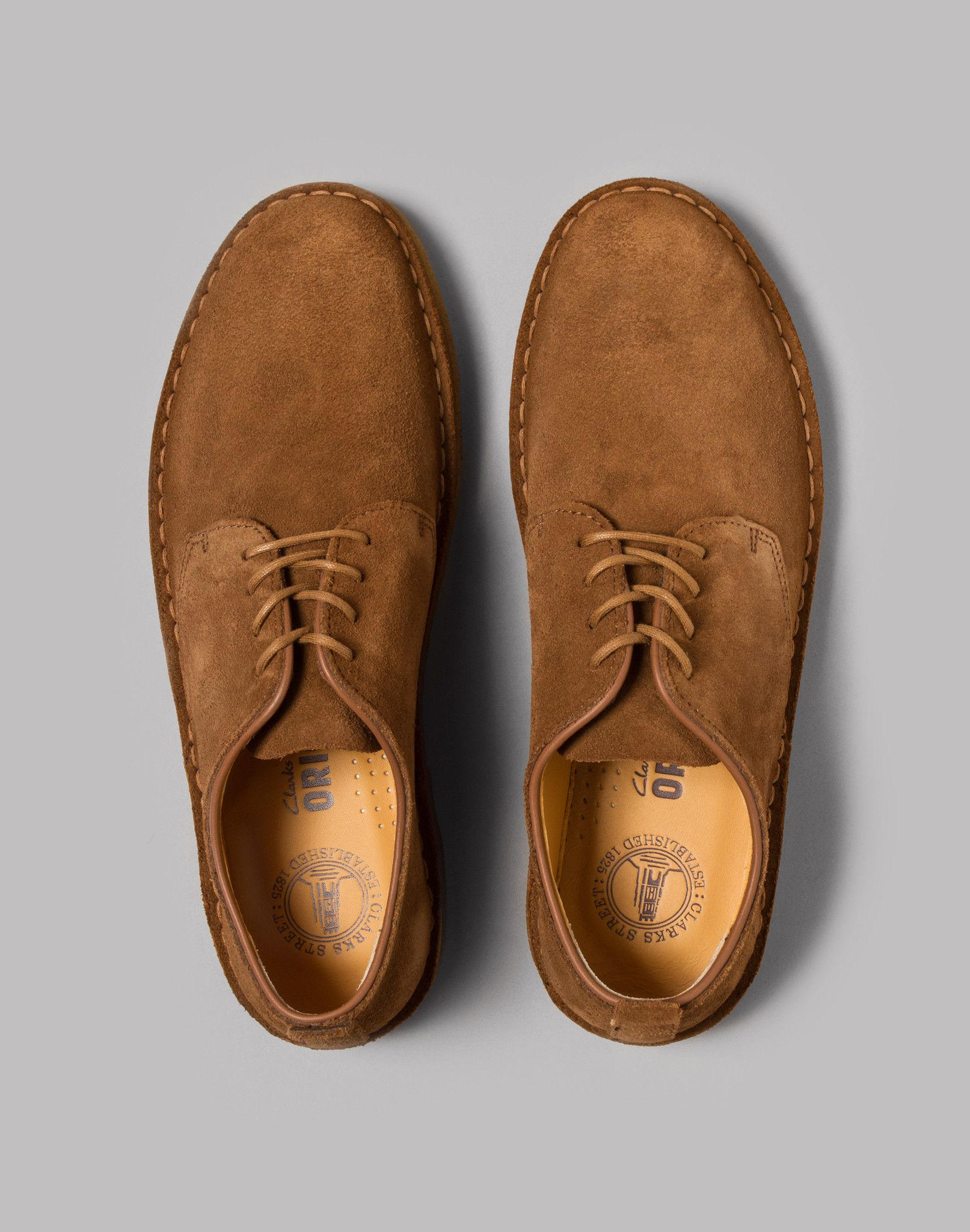 Clarks Originals Desert London (Cola Suede) | Clarks