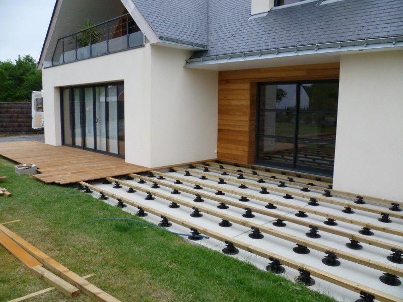 Terrasse En Ipe Sur Plots Outdoor Decor Outdoor Home Decor