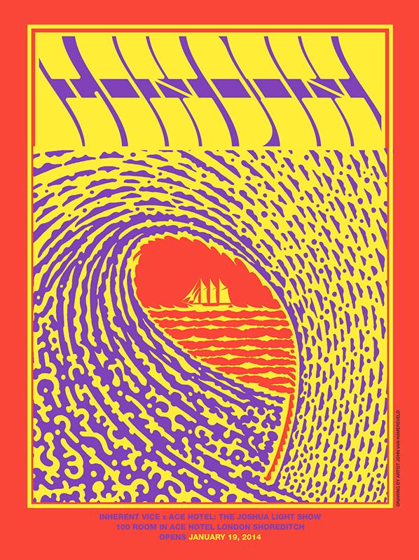 Seventies poster art inspired #London #Art