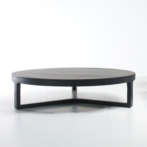 Johannesburg Coffee Table Modern Features: Handcrafted From Solid Wood, The Ema Round Coffee Table