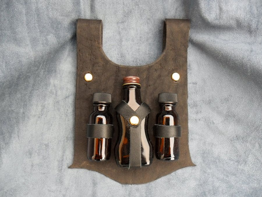 Bottle Holster by fiannaValkyrie