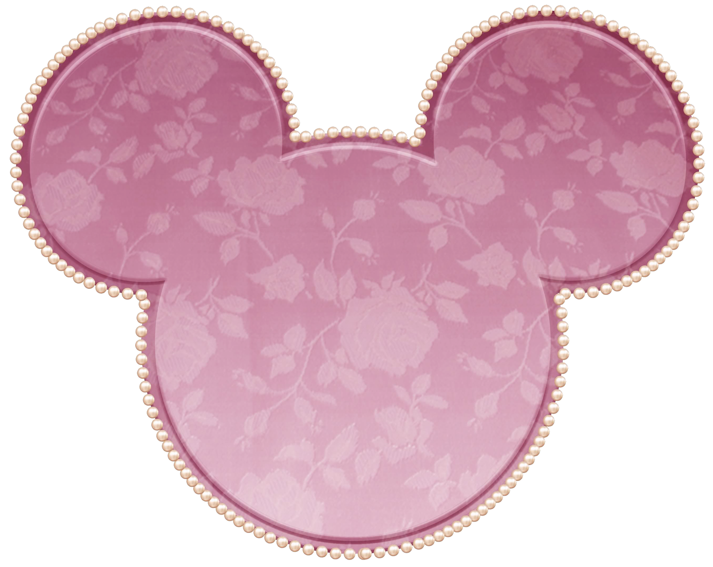 Pink Lace Minnie Ears Mouse House