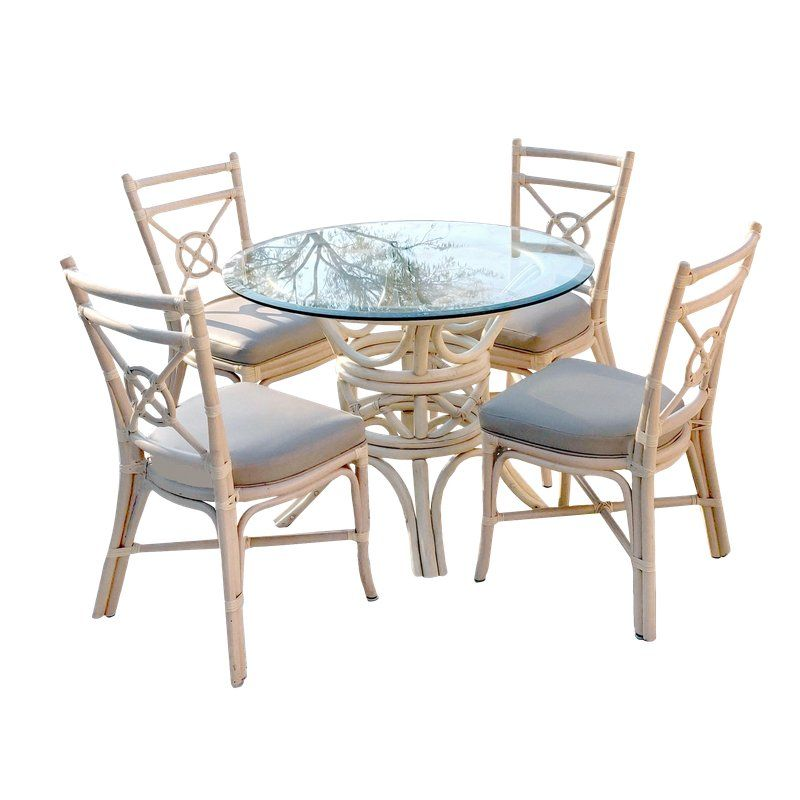 Incredible 1980S Chippendale Mcguire Ash Blonde Rattan Dining Set 5 Download Free Architecture Designs Rallybritishbridgeorg
