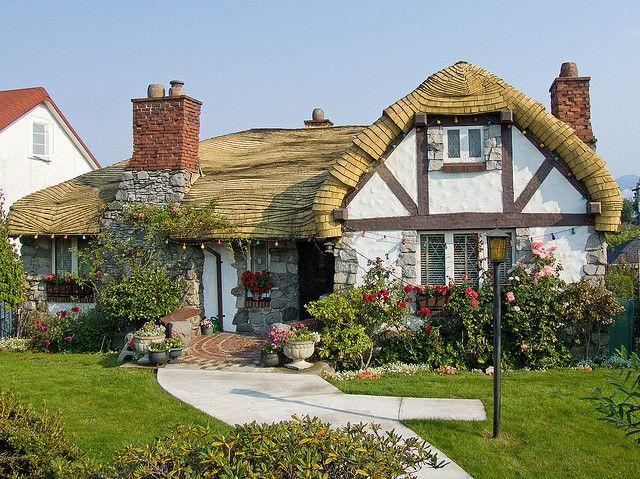 Fairy Tale House Vancouver Fairytale House Cute Cottage