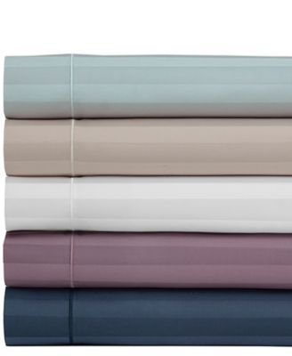 Elite Home Cooling Cotton Satin Stripe Queen Sheet Set Reviews