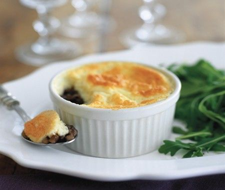 Goat Cheese & Portobello Soufflés Recipe | House & Home