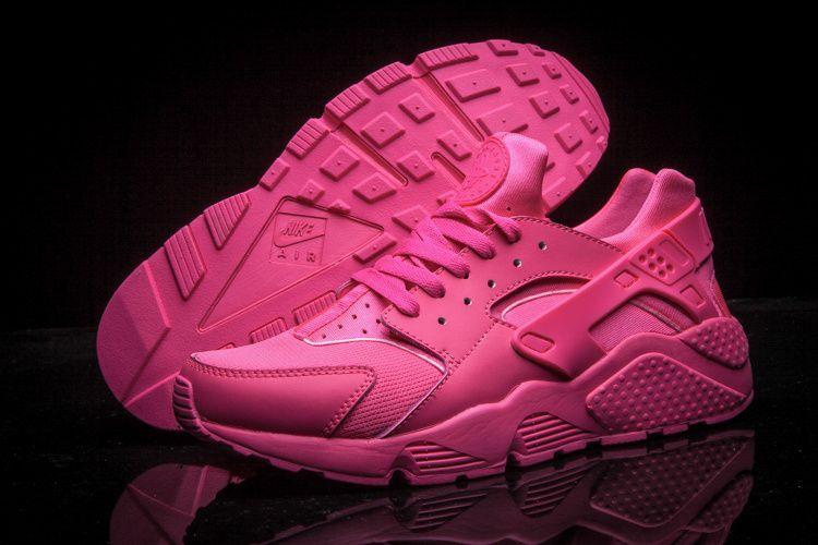 9685284809d4 newest Nike Air Huarache Think Pink Hot Pink Vivid Pink running 2015 shoes