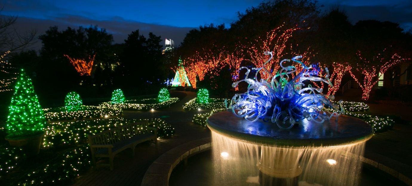 Garden Lights Holiday Nights Atlanta Botanical Garden