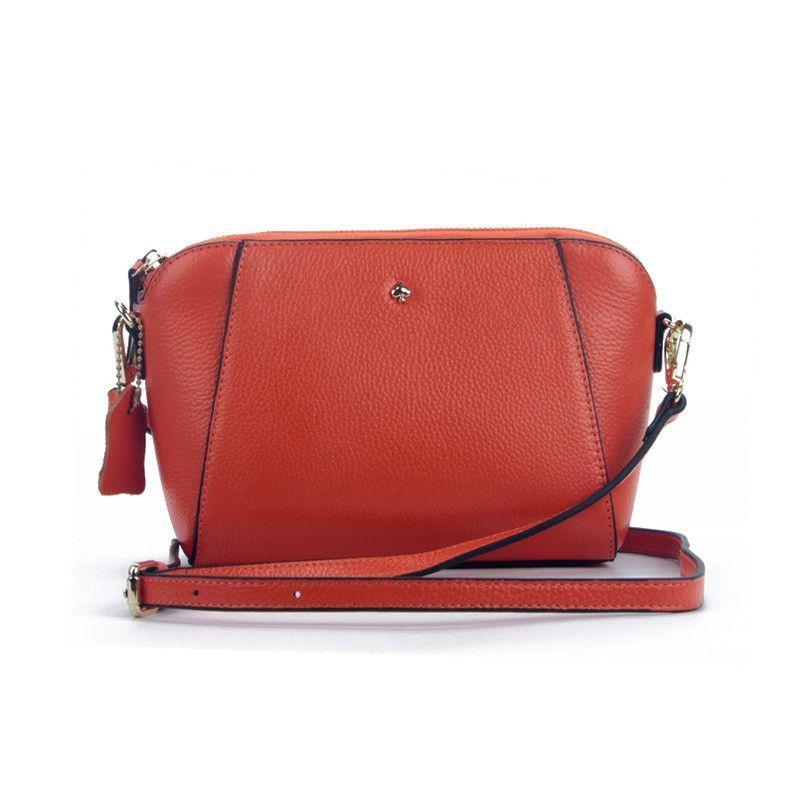 ESUFEIR Brand Embossed Genuine Leather Women Messenger Bag Fashion Solid Cow Leather Shoulder Bag Casual Small Bag Crossbody Bag