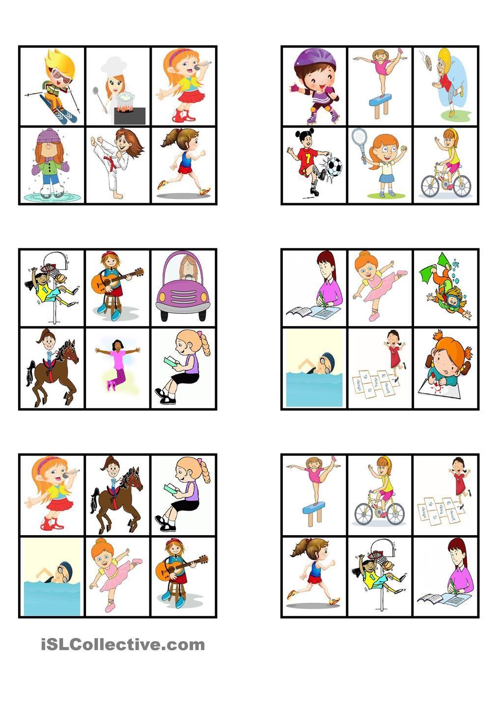 Bien connu LOTO - Verbes d'action | Orthophonie, Langage oral et École EA08