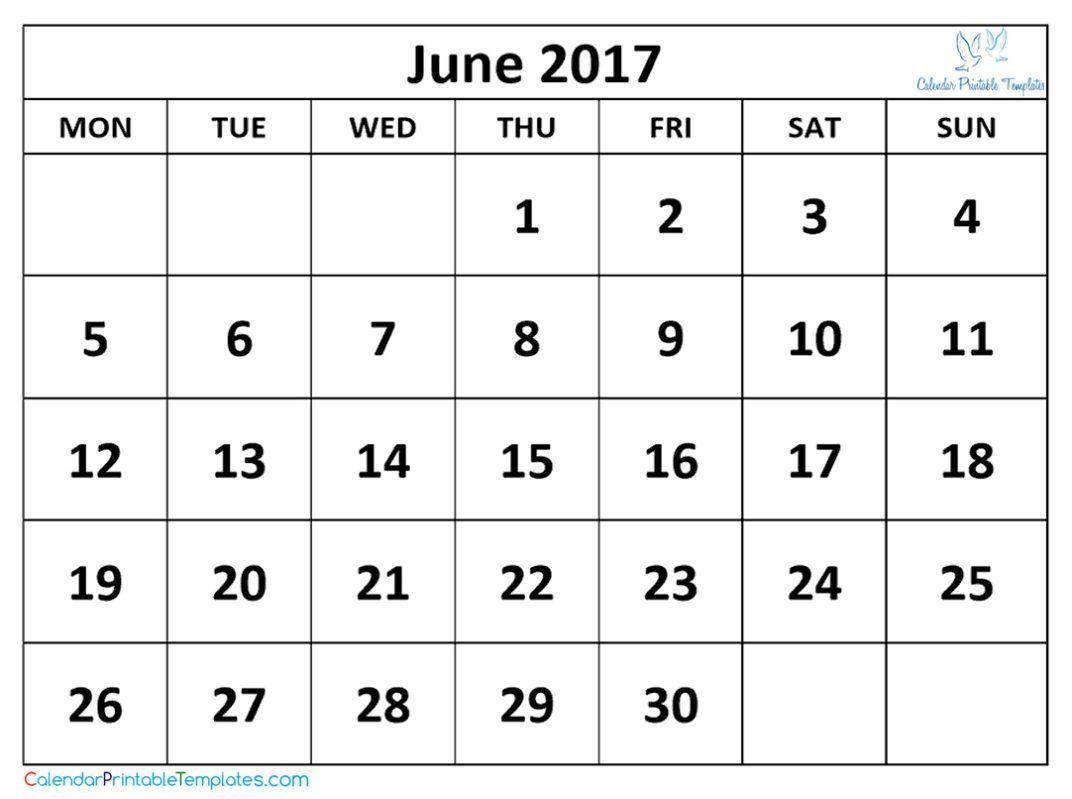 June  Calendar Printable HttpWwwCalendarprintabletemplates