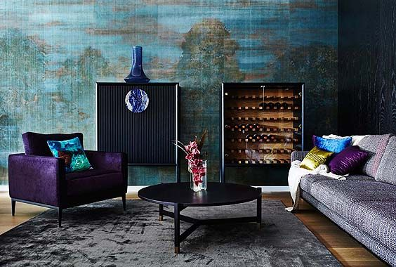 Zuster Halo South Pacific Rubelli Fabric Collaboration Launch Melbourne Showroom