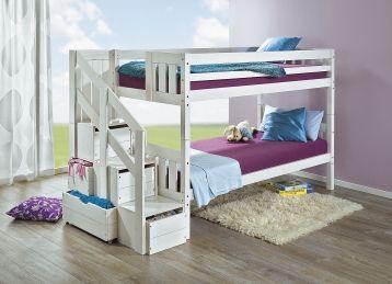 etagenbett etagenbett kinder jugendm bel wohnen. Black Bedroom Furniture Sets. Home Design Ideas