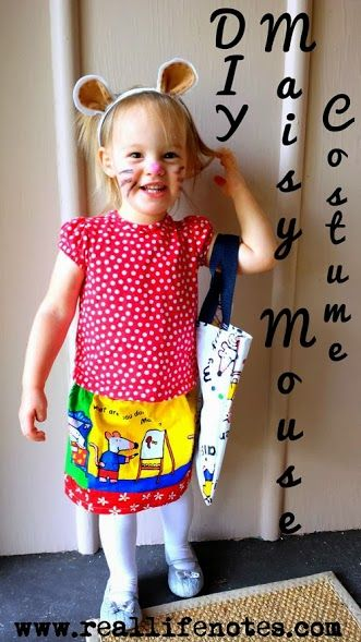 diy maisy mouse costume love this costume especially for a toddler toddler halloween costume - Simple Toddler Halloween Costumes