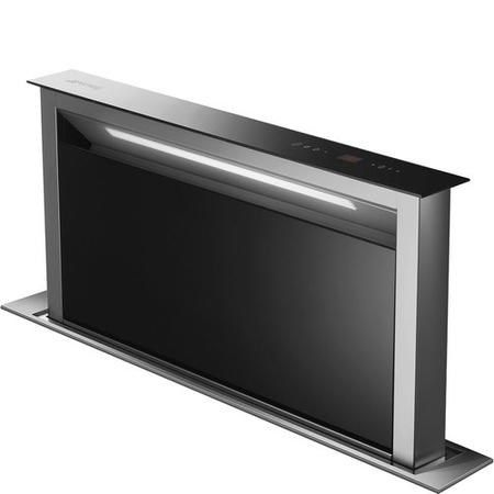 Buy Smeg KDD90VXNE 90cm Downdraft Extractor Black Glass
